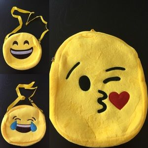 Other - BUNDLE Emoji Bags